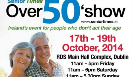 IOS to speak at Over50s Show, Dublin