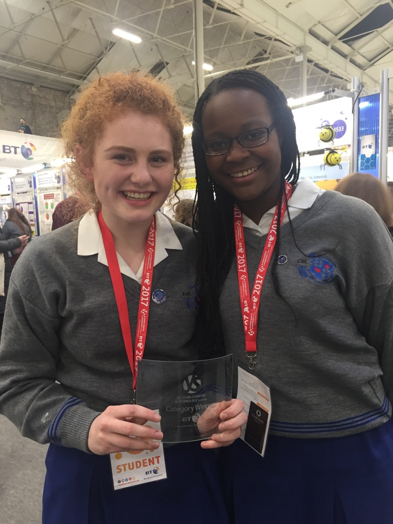 Young scientists win award for osteoporosis project