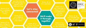 Getting Through COVID-19 Together Campaign -