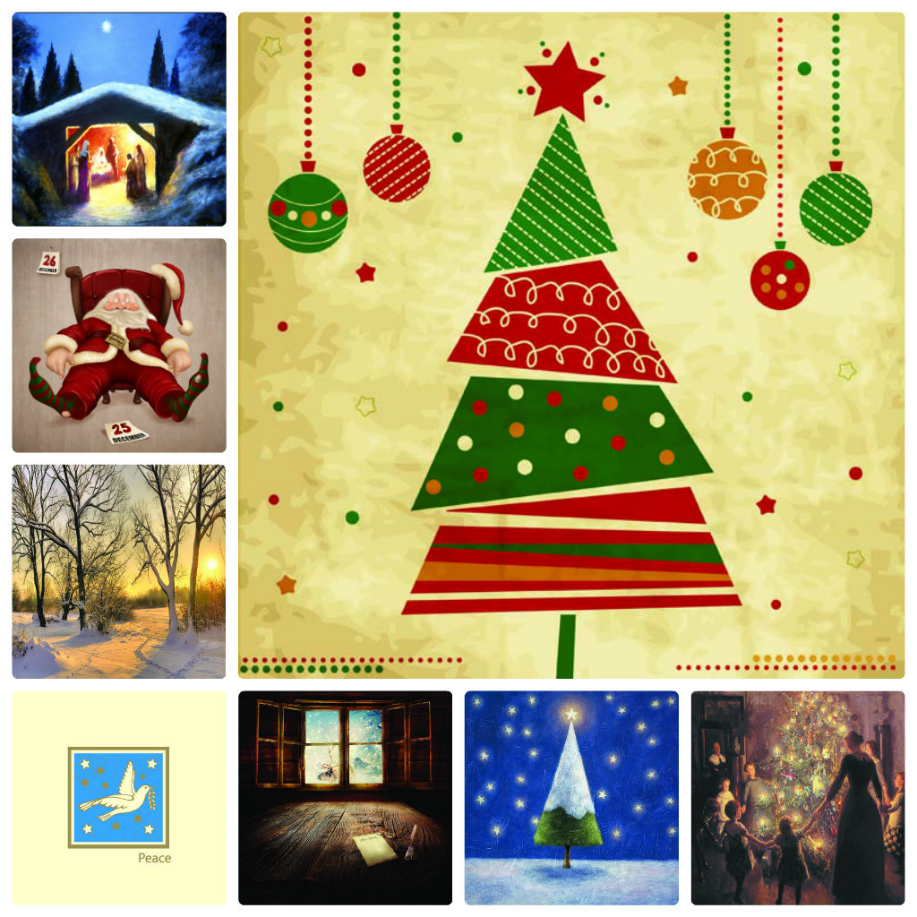 Christmas Cards on sale now in aid of IOS