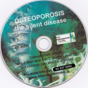 Osteoporosis: the Silent Disease DVD + educational pack
