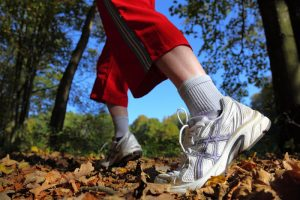 Walking is a really good exercise to stave off osteoporosis