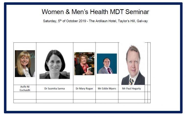 Women & Men's Health MDT Seminar: Sexual Dysfunction
