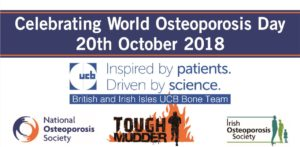 World Osteoporosis Day Tough Mudder 20.10.2018